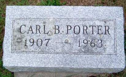 PORTER, CARL B. - Madison County, Iowa | CARL B. PORTER