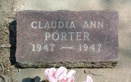 PORTER, CLAUDIA ANN - Madison County, Iowa | CLAUDIA ANN PORTER