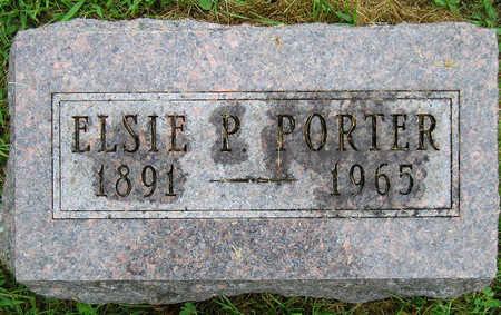 PORTER, ELSIE P. - Madison County, Iowa | ELSIE P. PORTER