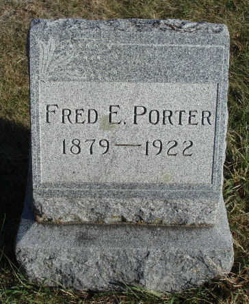 PORTER, FRED ELSWORTH - Madison County, Iowa | FRED ELSWORTH PORTER
