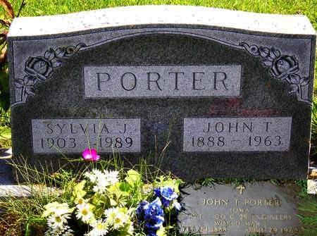 PORTER, JOHN THOMAS - Madison County, Iowa | JOHN THOMAS PORTER