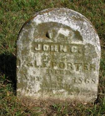 PORTER, JOHN C. - Madison County, Iowa | JOHN C. PORTER