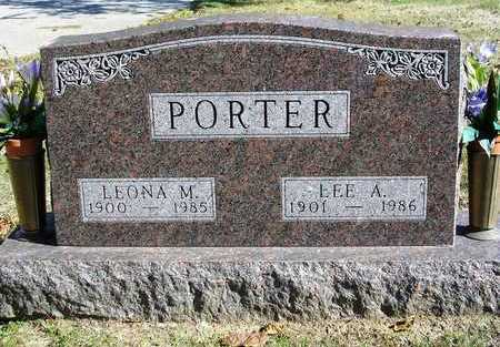 PORTER, LEE ANDREW - Madison County, Iowa | LEE ANDREW PORTER
