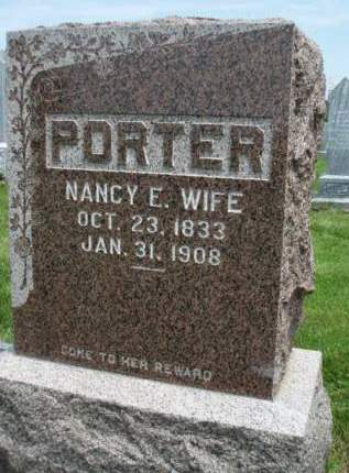 PORTER, NANCY ELLEN - Madison County, Iowa | NANCY ELLEN PORTER