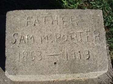 PORTER, SAMUEL MARION - Madison County, Iowa | SAMUEL MARION PORTER