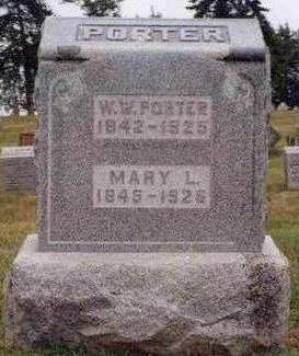PORTER, MARY L. - Madison County, Iowa | MARY L. PORTER