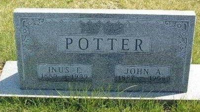 PACE POTTER, INUS E. - Madison County, Iowa | INUS E. PACE POTTER