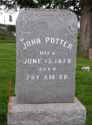 POTTER, JOHN - Madison County, Iowa | JOHN POTTER