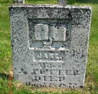 FUNDY POTTER, JANE - Madison County, Iowa | JANE FUNDY POTTER