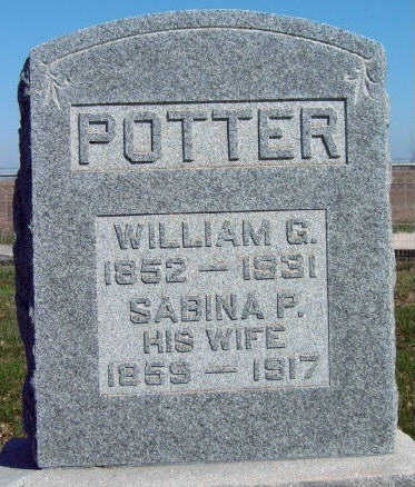 POTTER, WILLIAM G. - Madison County, Iowa | WILLIAM G. POTTER