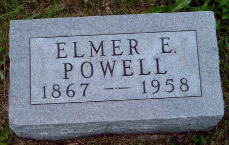POWELL, ELMER E - Madison County, Iowa | ELMER E POWELL