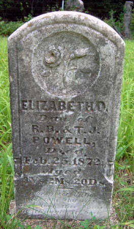 POWELL, ELIZABETH O. - Madison County, Iowa | ELIZABETH O. POWELL
