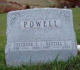 POWELL, GERTRUDE CLEMENTINE - Madison County, Iowa | GERTRUDE CLEMENTINE POWELL