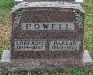 POWELL, HARLAN - Madison County, Iowa | HARLAN POWELL