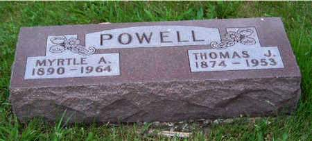 POWELL, THOMAS J. - Madison County, Iowa | THOMAS J. POWELL