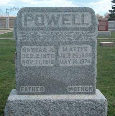 POWELL, MATTIE - Madison County, Iowa | MATTIE POWELL