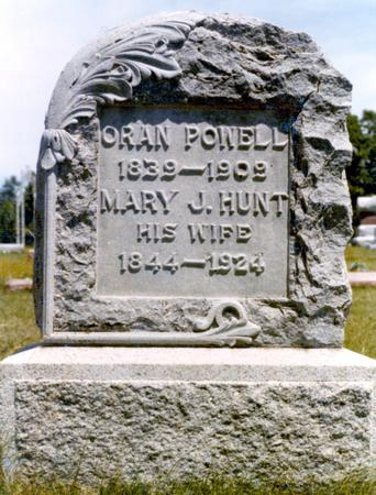 HUNT POWELL, MARY JANE - Madison County, Iowa | MARY JANE HUNT POWELL