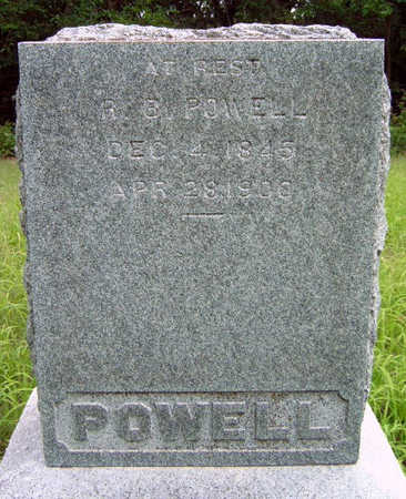 POWELL, REUEL / RUEL BENNETT - Madison County, Iowa | REUEL / RUEL BENNETT POWELL