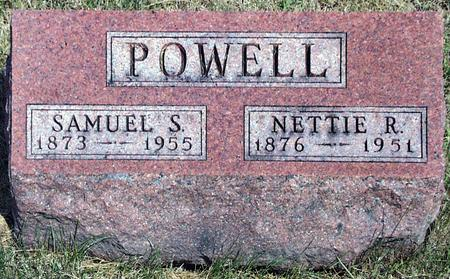 POWELL, NETTIE R. - Madison County, Iowa | NETTIE R. POWELL