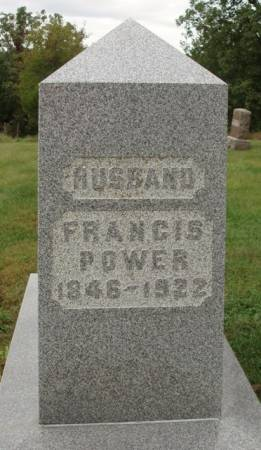 POWER, FRANCIS - Madison County, Iowa | FRANCIS POWER
