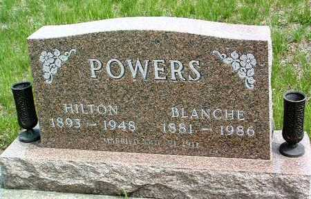 POWERS, JOHN HARRY HILTON / HYLTON - Madison County, Iowa | JOHN HARRY HILTON / HYLTON POWERS