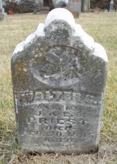 PRIEST, WALTER G. - Madison County, Iowa | WALTER G. PRIEST