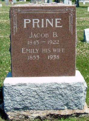 PRINE, EMILY JANE - Madison County, Iowa | EMILY JANE PRINE
