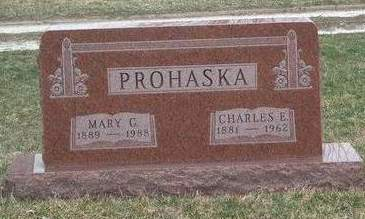 PROHASKA, MARY GLADYS - Madison County, Iowa | MARY GLADYS PROHASKA