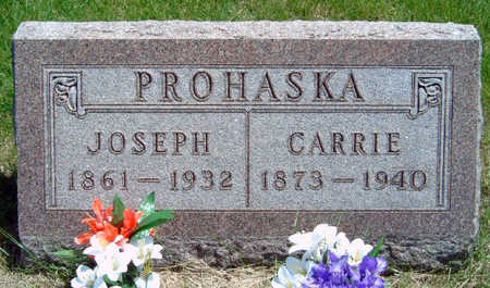 PROHASKA, JOSEPH (JOE) - Madison County, Iowa | JOSEPH (JOE) PROHASKA
