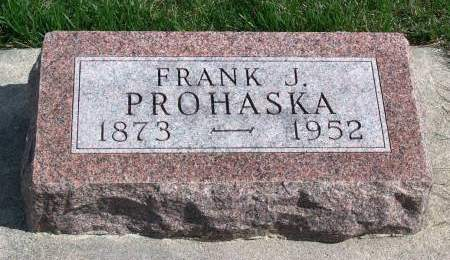 PROHASKA, FRANK JOHN - Madison County, Iowa | FRANK JOHN PROHASKA