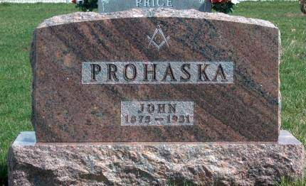 PROHASKA, JOHN - Madison County, Iowa | JOHN PROHASKA