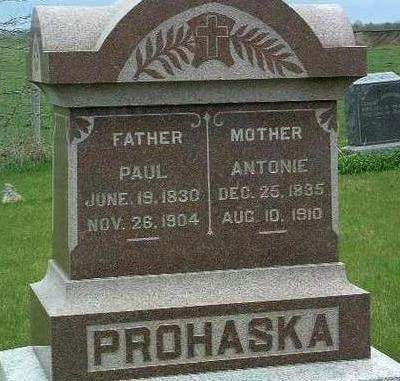 PROHASKA, ANTONIA - Madison County, Iowa | ANTONIA PROHASKA