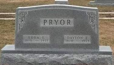 PRYOR, EDNA ELIZABETH - Madison County, Iowa | EDNA ELIZABETH PRYOR