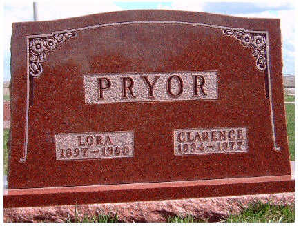 PRYOR, LORA WINIFRED - Madison County, Iowa | LORA WINIFRED PRYOR
