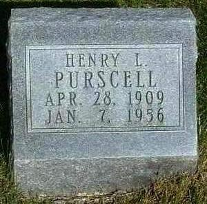 PURSCELL, HENRY L. - Madison County, Iowa | HENRY L. PURSCELL