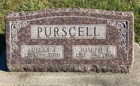 PURSCELL, JOSEPH EDWARD - Madison County, Iowa | JOSEPH EDWARD PURSCELL