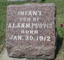 PURVIS, INFANT - Madison County, Iowa   INFANT PURVIS