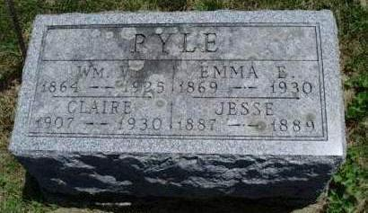 CRAVEN PYLE, EMMA ERMINE - Madison County, Iowa | EMMA ERMINE CRAVEN PYLE