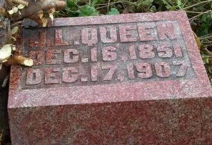 QUEEN, JOHN LEWIS - Madison County, Iowa | JOHN LEWIS QUEEN