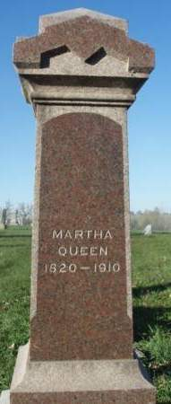 RUNKLE QUEEN, MARTHA ANN - Madison County, Iowa | MARTHA ANN RUNKLE QUEEN
