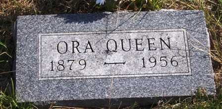 QUEEN, ORA / ORAN C. - Madison County, Iowa | ORA / ORAN C. QUEEN