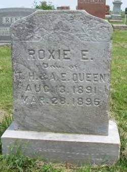 QUEEN, ROXIE EVA - Madison County, Iowa | ROXIE EVA QUEEN