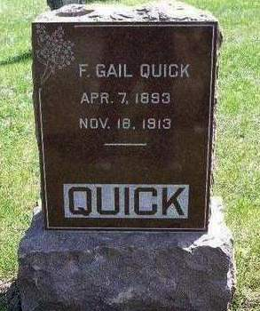QUICK, FREDERICK GAIL - Madison County, Iowa | FREDERICK GAIL QUICK
