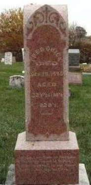 QUICK, FREDERICK H. (FRED) - Madison County, Iowa   FREDERICK H. (FRED) QUICK