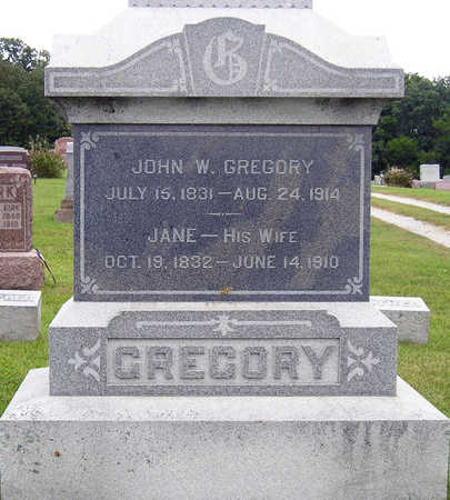 QUINN GREGORY, DEBORAH ANN JANE - Madison County, Iowa   DEBORAH ANN JANE QUINN GREGORY