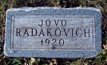 RADAKOVICH, JOVO - Madison County, Iowa | JOVO RADAKOVICH