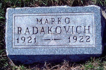 RADAKOVICH, MARKO - Madison County, Iowa | MARKO RADAKOVICH