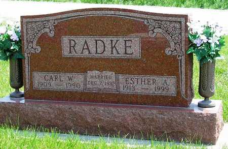 RADKE, ESTHER ANNA - Madison County, Iowa | ESTHER ANNA RADKE