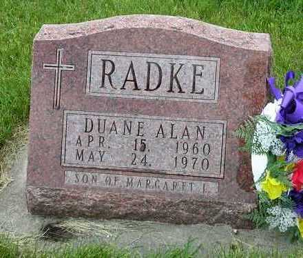 RADKE, DUANE ALAN - Madison County, Iowa | DUANE ALAN RADKE