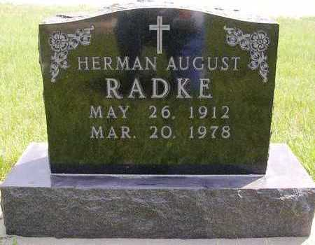 RADKE, HERMAN AUGUST - Madison County, Iowa | HERMAN AUGUST RADKE